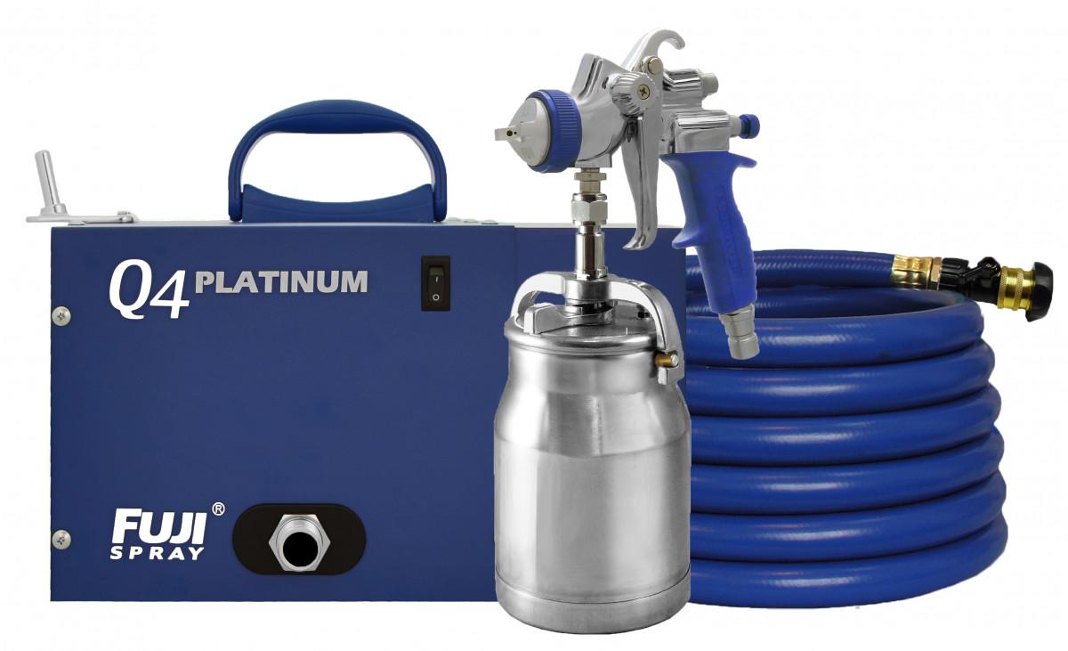 Hvlp Spray Gun Kit >> Fuji HVLP Q4 PLATINUM | Spraychief Online Store