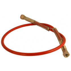 "1M x 1/4"" Wire Braided Whip Hose (Max working pressure 4625psi)"