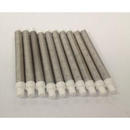 17-50 White 50# Mesh Push In Gun Filter (10 Pack)