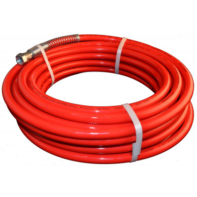 """15M X 1/4"""" Double Wire Braided Airless Hose (Max working pressure 6525psi)"""