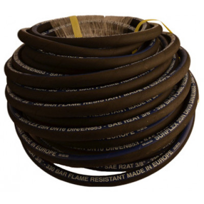 "3/8"" X 10M Double Wire Braided Hose"