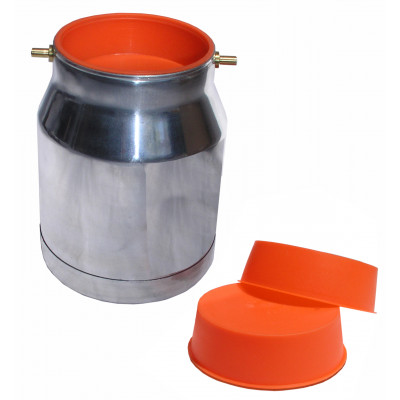 FUJI:9903-3: Plastic Pot protector 1lt suction pot 3 pack