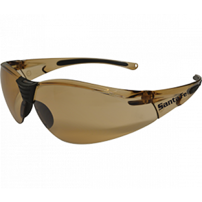 TW:EBR334: Safety Glasses- Santafe (Bronze)