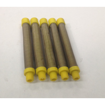 14-2173 100# Yellow Screw In Gun Filter (5 Pack)