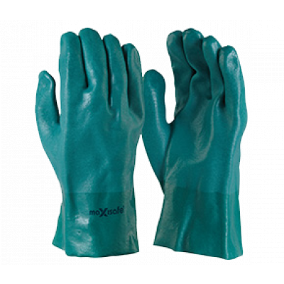 TW:GPD134-27: PVC Double Dipped chemical gloves 27cm