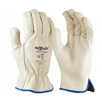 TW:GRP141: Premium Riggers Gloves- Cow grain Leather