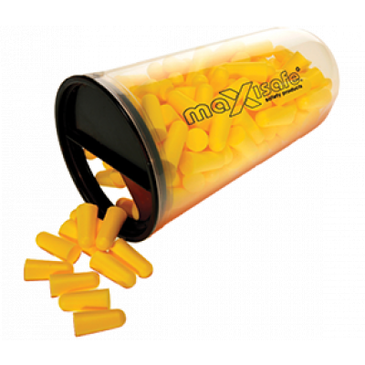 TW:HEU660: Uncorded Ear Plugs- Maxisafe (Tube of 100)