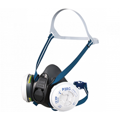 TW:RRS01PK-L: TPE Half mask Respirator kit -Painters kit