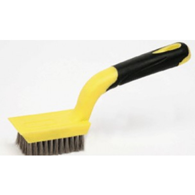 Stainless Steel Wire Brush/ Scrapper Small