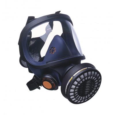 SR200: Sundstrom SR200 Full face respirator Silicon (Plastic Visor)